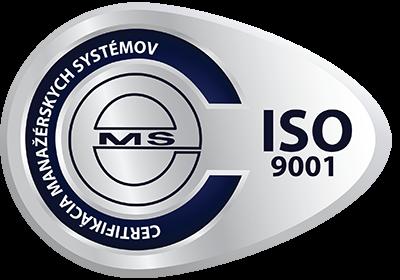 vzor certifikačnej známky ISO 9001 od CeMS