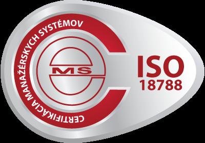 certifikačná známka ISO 18788