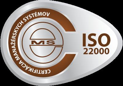 certifikačná značka ISO 22000