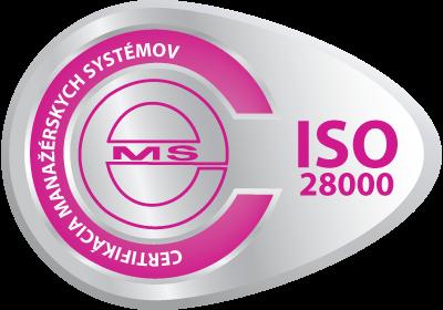 vzor certifikační známky ISO 9001 od CeMS