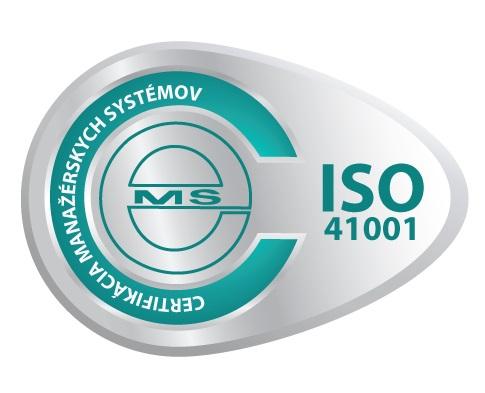 vzor certifikačnej známky ISO 41001 od CeMS
